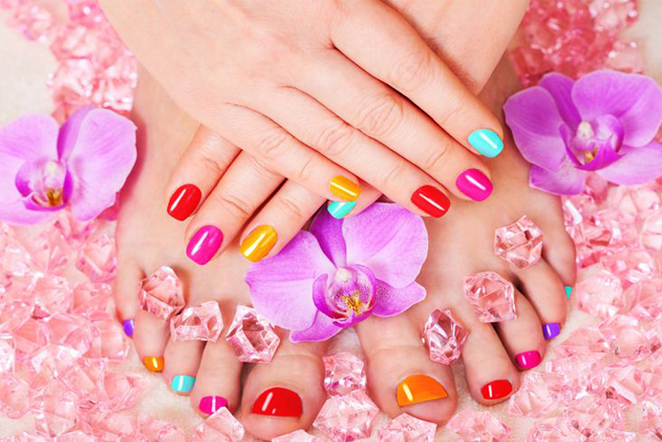 Amazing Manicure Pedicure Gel Polish Color Combinations