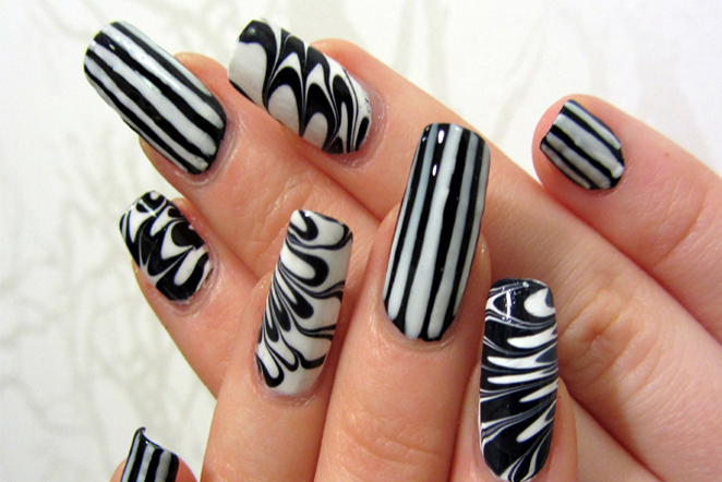 Incredible Black White Nail Designs You Can Always Try